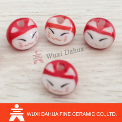 Best Quality Lovely Design Cheap Customized Colorful Red Fortune Cat