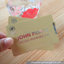 Chinese Factory Custom Design Plastic Card
