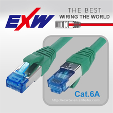 ETL DELTA CERTIFICATE HIGHT QUALITY Cat 6A SSTP PIMF Patch Cord