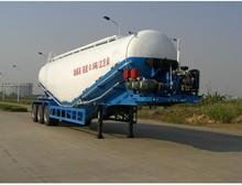 2015 hot selling 2 Axles Bulk Cement Tank truck trailer / tank trailer transportation