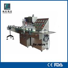semi auto bottle liquid filling machine