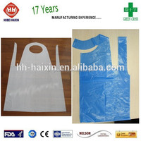PE Aprons for Hair Dressing/Catering