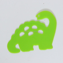 Washable Plastic Dinosaur Stencil , Template Early Educational Toys