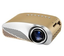 led video projector, Home Theater 3D Cinema 1080P HD HDMI USB Digital Multimedia LCD LED Mini proyector