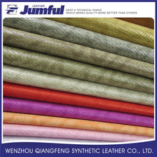 Professional manufacture cheap artificial finish leather buyer