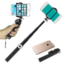 High quality new products bluetooth shutter monopod for iphone