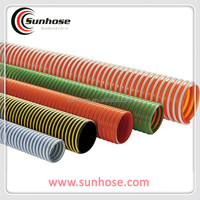 Heavy duty spiral reinforced PVC Suction Hose pipe