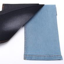 9.7 oz algodão poliéster elastano modelo denim saia tecido