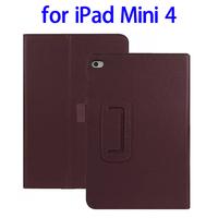 Cheap Price 2 Folding Flip Leather Case for iPad Mini 4