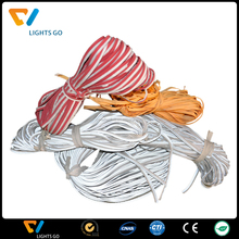 Colorful reflective edging for cloth decoration and cloth accessory