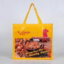 New product non-woven floding shopping bag manufacture