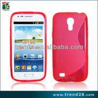 2015 new trendy products s line tpu cell phone case for samsung galaxy s4 mini