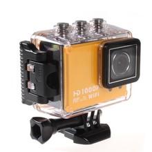 Wholesales Electronic NEW1080P HD 12MP Wifi Sports DV Action Waterproof Camera, digital camera
