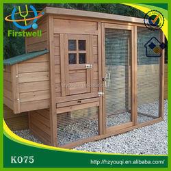 Hot wooden pet house/chicken coop/waterproof chicken run cage