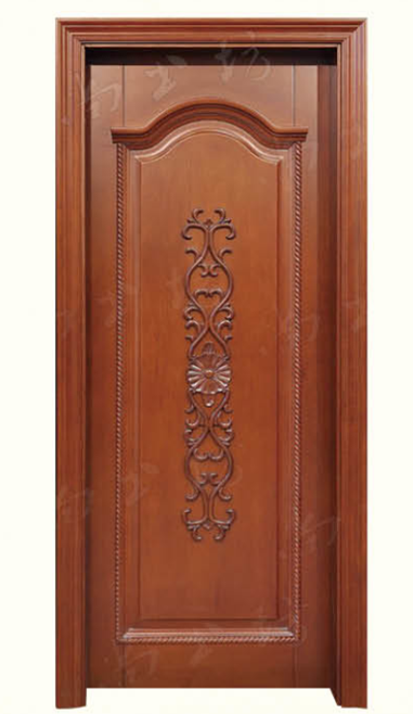 Latest hot sale rosewood carving single leaf wood room for Latest wooden door designs pictures