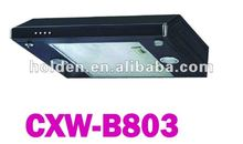 ultra-thin kitchen range hood with black color