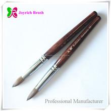 Nail Acrylic Power Brush Supply Best Kolinsky Head No Shed Hairs