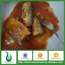 Mackerel fish canned in tomato sauce for sale