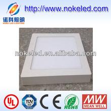 3w-24w round shape or square shape surface mounted shenzhen led panel light price/singming shine led panel light