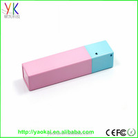 The cheapest universal power bank 2600, promotional portable charger power bank 2600mah