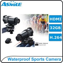 720P SD sport camera AT10 sunshine recorder with 10M waterproof design