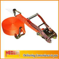 2 inch/2500kg Lashing Capacity Container Lashing Belt with Double J hooks