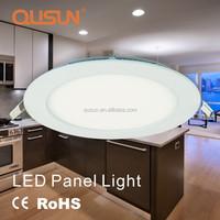 LED Slim Panel Light, Round Panel Light, Ultra Thin Light