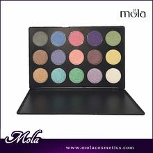 Hot sale makeup 15 color best eyeshadow for brown eyes,popular eye shadow