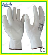 With smooth finish or other Thoughtful good service concept safety glove