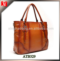 Ladies Fashion Laptop Case Tote 15 inch anuschka leather handbag retro bags