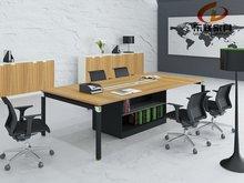 office furniture aluminium leg metal frame conference table KD-15