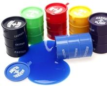 wholesale Novelty Children toys Slime Multicolor Barrel of Slime barrel o slime toy/