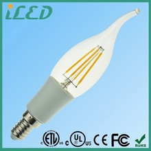 360 Degrees Wide Beam Angle 6500K Cool White 4W Dual Best Dimmable Filament Led Bulb