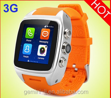 1.54 Inch IPS Screen MTK6572 Dual Core WCDMA 3G smart watch 2015 Smart X01