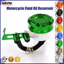 BJ-OC-019 Universal Aluminium CNC Motorcycle CNC Master Cylinder Brake Fluid Reservoir for Yamaha