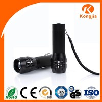 3W Q5 Ultra Bright OEM 200Lumen Mini Zoom Aluminium Led Torch Flashlight 5 Watt Led Chip Grow Lights