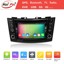 Capacitive Touch Screen 2 Din Gps Navigation System For Suzuki Swfit Support Wifi Map Bluetooth OBD2 DAB Radio