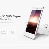 Dual sim 4.5 inch china mobile ultra slim android smart phone leagoo
