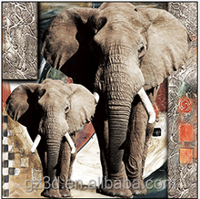new products 2015 innovative lively animal 3D frameless photo design by Guangzhou factory