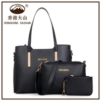 ABG9-1Luxury High quality 3 in 1 Factory direct price set handbags ladies handbag sets