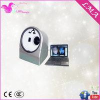Top level customized portable digital skin diagnosis scanner tester camera