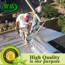 aluminum foil pe woven fabric metal roof coating