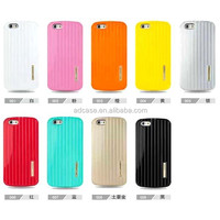 2015 suitcase design hard back mobile phone case cover for iphone 4 5 6