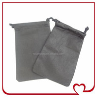 Promotional Price 250pcs new design non woven drawstring pouch