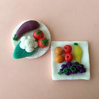 1:25 model craft pottery scale model fruit tray