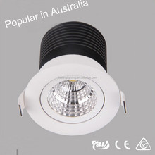 Australia hot new products for 2015 cob led downlight 5w dimmable with certificates