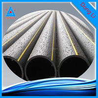 Manufacturer 110mm pe plastic pipe SDR 11 hdpe gas pipe for oil and gas