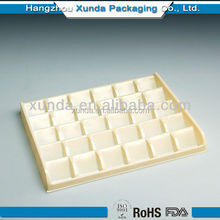 2015 Factory supplier plastic tray PS/PET/PVC plastic packaging trays