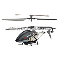 3.5 Channel Speed-up Auto-Demo Iphone Controlled Metal Gyro RC Helicopter With Camera