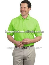 Nice Fitting men's polo neck t-shirt custom from china